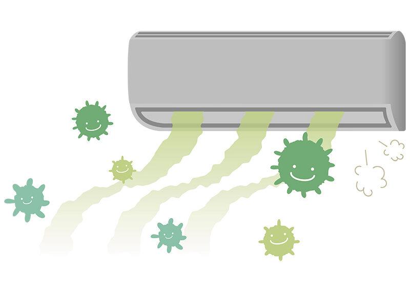วิธีกําจัดเชื้อราในแอร์ จบปัญหากลิ่นเหม็นอับในบ้านและภัยร้ายใกล้ตัว